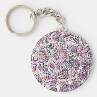 Arithmetic Mandara key holder Keychain