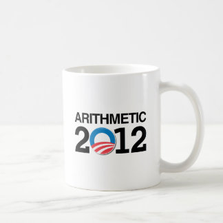 ARITHMETIC WITH OBAMA -.png Coffee Mug
