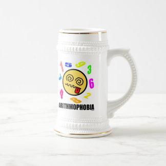 Arithmophobia Beer Stein