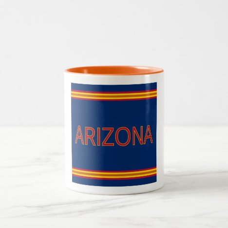 Arizona 11 oz Two-Tone Mug