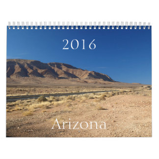 Arizona 2016 Calendar