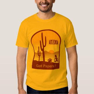 Arizona 2 tee shirt