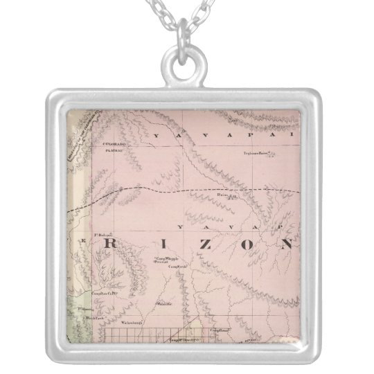 Arizona 3 collar plateado