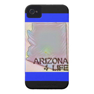"""Arizona 4 Life"" State Map Pride Design iPhone 4 Cover"