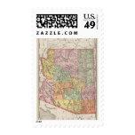 Arizona 4 postage stamps