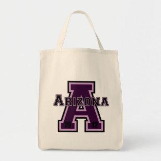 Arizona 'A' Purple 2 Canvas Bags