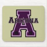 Arizona 'A' Purple 2 Mouse Pads