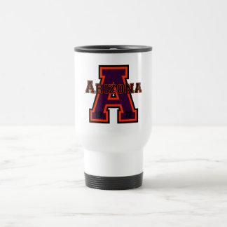 Arizona 'A' Purple Travel Mug