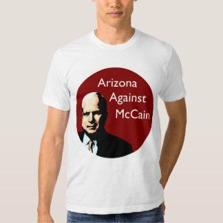 Arizona Against John McCain Shirt