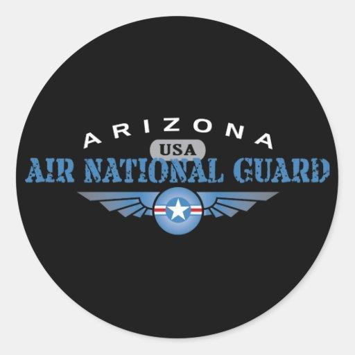 Arizona Air National Guard Classic Round Sticker