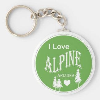 Arizona alpino llavero personalizado