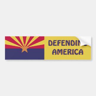 Arizona: América de defensa Pegatina Para Auto