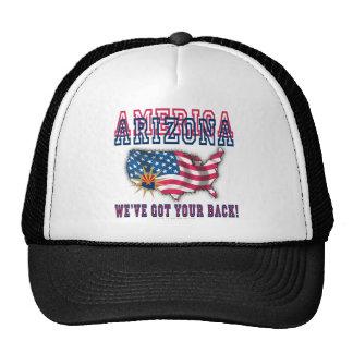 ¡Arizona - América! Gorros Bordados
