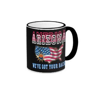 ¡Arizona - América! Tazas De Café