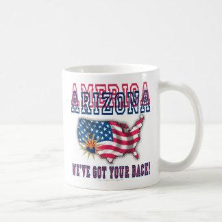 ¡Arizona - América! Taza