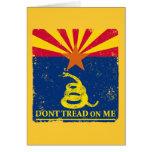 Arizona and Gadsden Flag Cards