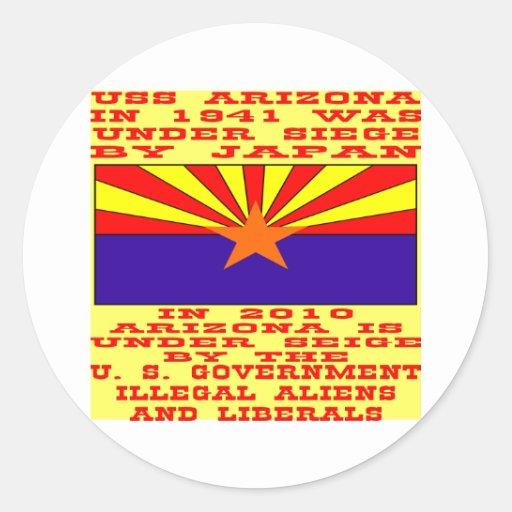 Arizona bajo cerco del gobierno federal #01 etiquetas