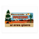 Arizona Bienvenido un güero de los eres de Arizona Tarjetas Postales