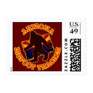 Arizona Bigfoot Tracker Postage Stamp