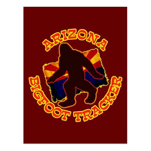 Arizona Bigfoot Tracker Postcard
