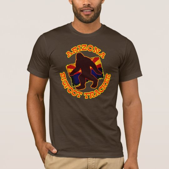 Arizona Bigfoot Tracker T-Shirt