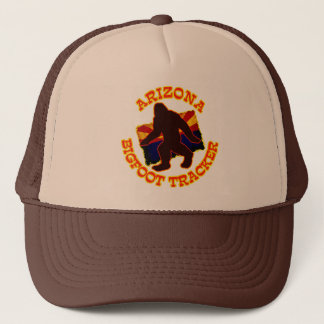 Arizona Bigfoot Tracker Trucker Hat