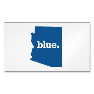 ARIZONA BLUE STATE MAGNETIC BUSINESS CARD