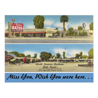 Arizona, Buckhorn Bath Resort Postcard