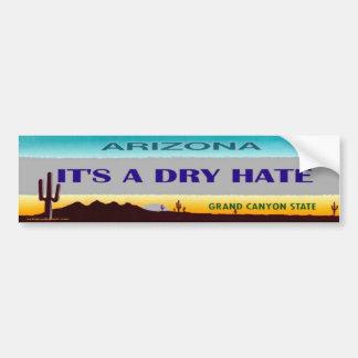 arizona... bumper sticker