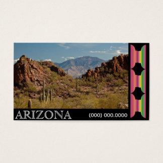 Arizona Business Card Photo Template