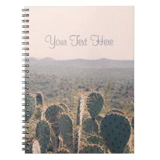 Arizona Cacti    Spiral Notebook