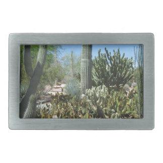 Arizona Cactus Garden Belt Buckles