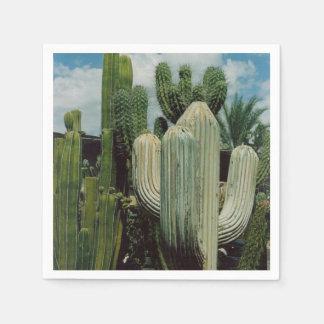 Arizona Cactus Paper Napkin