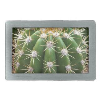 Arizona Cactus Rectangular Belt Buckle