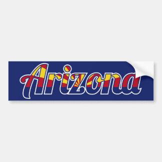 Arizona Pegatina De Parachoque