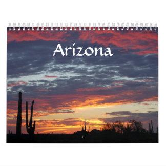Arizona Calendario De Pared