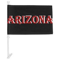 Arizona Car Flag
