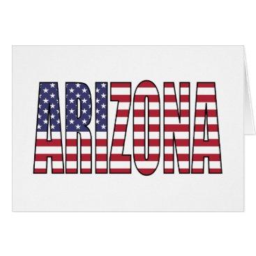 USA Themed Arizona Card