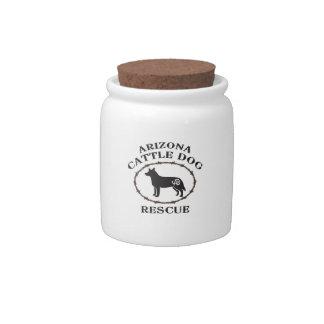 Arizona Cattle Dog Rescue Candy Jars