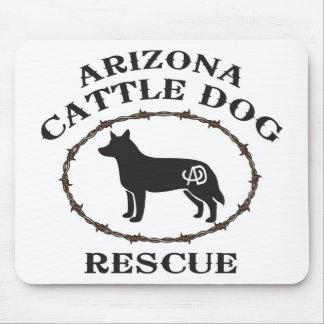 Arizona Cattle Dog Rescue Mouse Pad