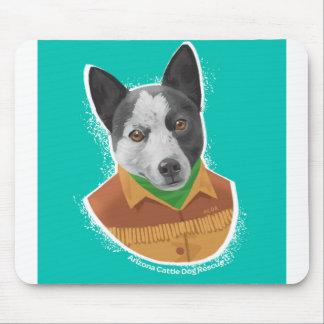 Arizona Cattle Dog Rescue mousepad