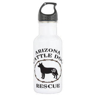 Arizona Cattle Dog Rescue Stainless Steel Water Bottle