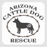 Arizona Cattle Dog Rescue Stickers