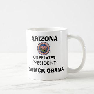 ARIZONA Celebrates President BARACK OBAMA Classic White Coffee Mug