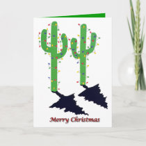 Arizona Christmas Holiday Card