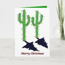 Arizona Christmas Holiday Card