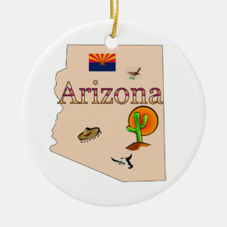 Arizona Christmas Tree Ornament