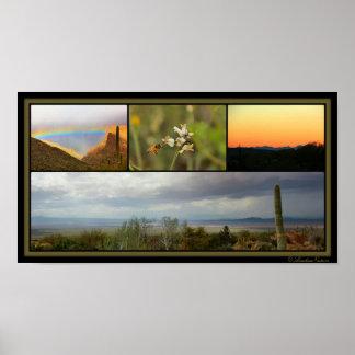 Arizona Collage Poster