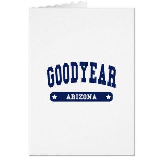 Arizona College Style tee shirts Greeting Card