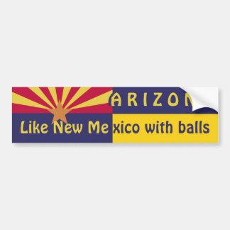 Arizona: Como New México Etiqueta De Parachoque